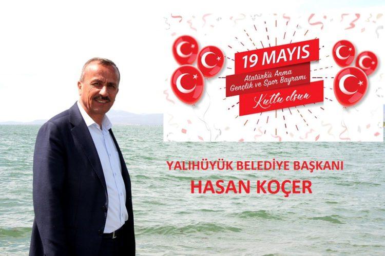 Başkan Koçer'den 19 Mayıs Mesajı